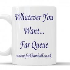 The Far Queue Mug