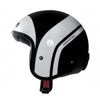 Caberg Freeride Commander Mistral Black, White Open Face Helmet